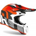 Kask AIROH TERMINATOR OPEN VISION SHOT SHOT ORANGE MATT
