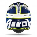 Kask Airoh WRAAP BROKEN BLUE GLOSS
