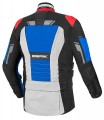 Kurtka BERIK Striker Waterproof RED BLUE