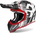 Kask AIROH Aviator ACE KYBON RED GLOSS