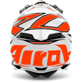 Kask AIROH TERMINATOR OPEN VISION SHOCK ORANGE GLOSS
