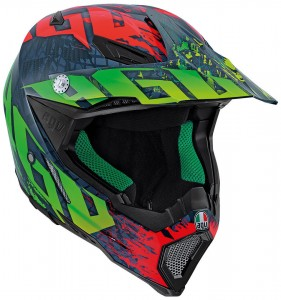 Kask AGV AX-8 CARBON Nohander