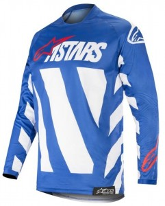 Bluza off-road Alpinestars RACER Braap Blue
