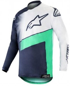 Bluza off-road Alpinestars RACER SUPERMATIC Navy/White