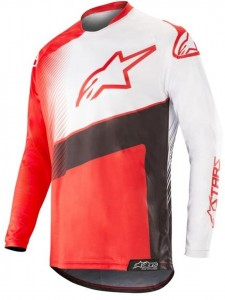 Bluza off-road Alpinestars RACER SUPERMATIC Black/Red