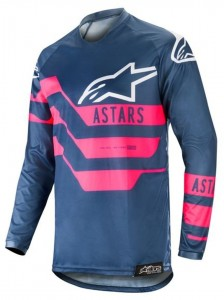Bluza off-road Alpinestars RACER Flagship Navy/Pink