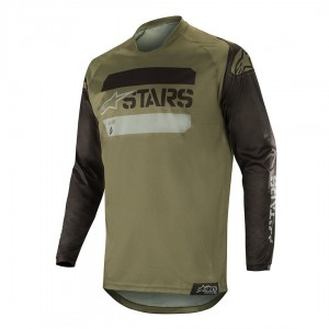 Bluza off-road Alpinestars RACER Tactical Military Green