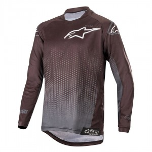 Bluza dziecięca off-road Alpinestars Youth RACER Graphite