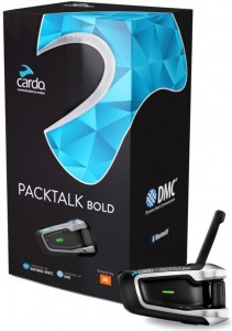 Interkom Cardo Scala Rider PACKTALK BOLD JBL - do 1 kasku