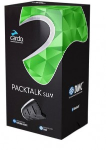 Interkom Cardo Scala Rider PACKTALK SLIM JBL - do 1 kasku