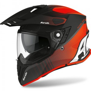Kask Airoh COMMANDER PROGRESS ORANGE MATT