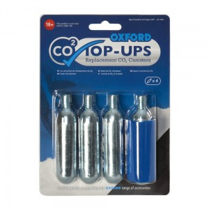 Naboje do pompowania CO2 Oxford Top-Ups