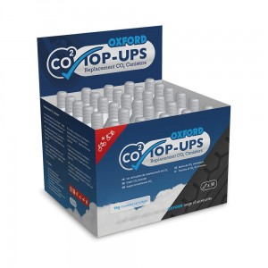 Naboje do pompowania opon CO2 Oxford Top-Ups 30szt.