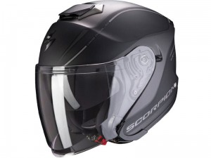 Kask Scorpion EXO-S1 Shadow Matt Black-Silver