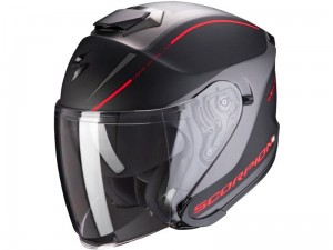 Kask Scorpion EXO-S1 Shadow Matt Black-Red