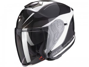 Kask Scorpion EXO-S1 Shadow Pearl White-Silver