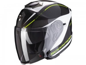 Kask Scorpion EXO-S1 Shadow Pearl White-Neon Yellow