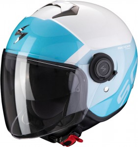 Kask Scorpion EXO-CITY SYMPA Light Blue