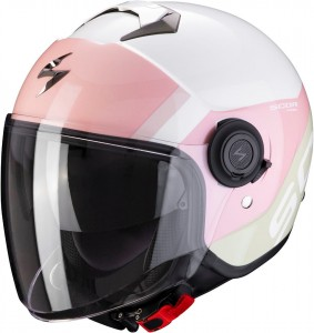 Kask Scorpion EXO-CITY SYMPA White-Coral