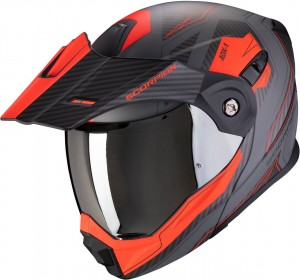 Kask Scorpion ADX-1 Tucson Cement-Grey-Red