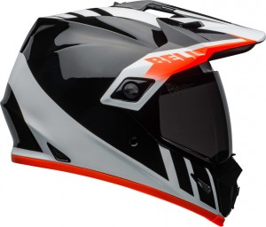 Kask Bell MX-9 Adventure MIPS Dash Grey Black Orange