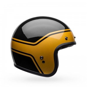 Kask BELL CUSTOM 500 DLX STREAK Black/Gold