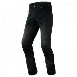 Jeansy motocyklowe OZONE STAR II Washed Black