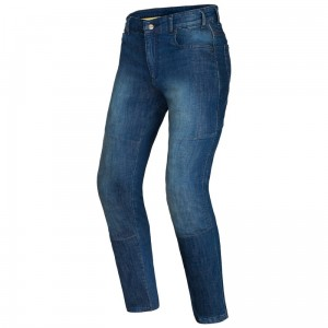 Jeansy motocyklowe OZONE STAR II Washed Blue