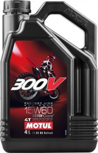 Olej Motul 300V 4T 15W60 4L Off-road