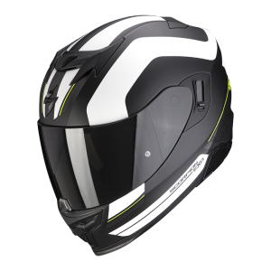 Kask SCORPION EXO-520 AIR  LEMANS Matt Black-White