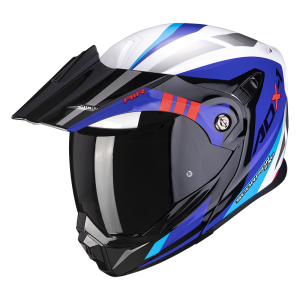 Kask Scorpion ADX-1 LONTANO White-Blue-Red