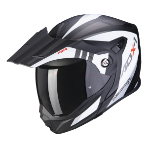 Kask Scorpion ADX-1 LONTANO Matt White-Black