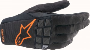 Rękawice off-road Alpinestars RACEFEND Black/Orage