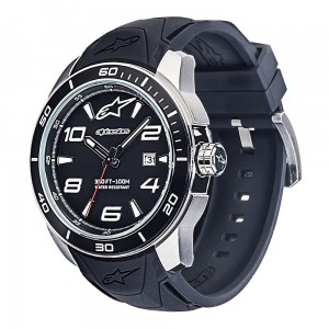 Zegarek Alpinestars Tech Watch 3H 1036-96007 Steel Silicon Strap