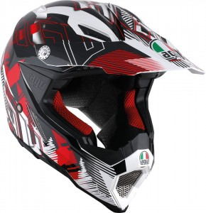 Kask AGV AX-8 Nofoot Red