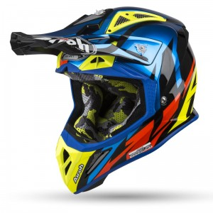 Kask AIROH Aviator 2.3 AMSS  GREAT BLUE GLOSS