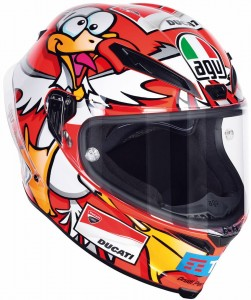 Kask AGV CORSA Iannone Winter Test