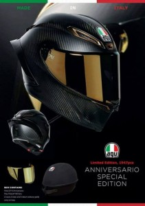 Kask AGV Pista GP R ANNIVERSARIO Limited Edition