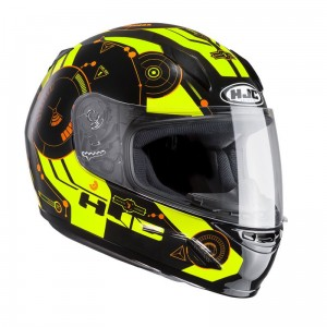 Kask HJC CL-Y JUNIOR  SIMITIC YELLOW