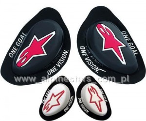 Slidery kolan Alpinestars GP KNEE SLIDER (ślizgacze)