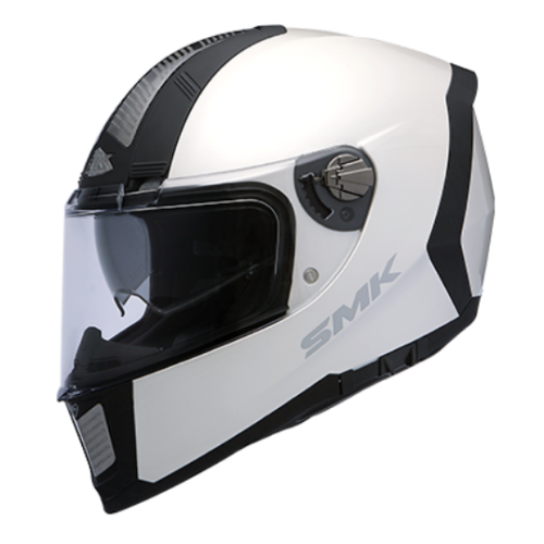 Kask SMK Steel Force White