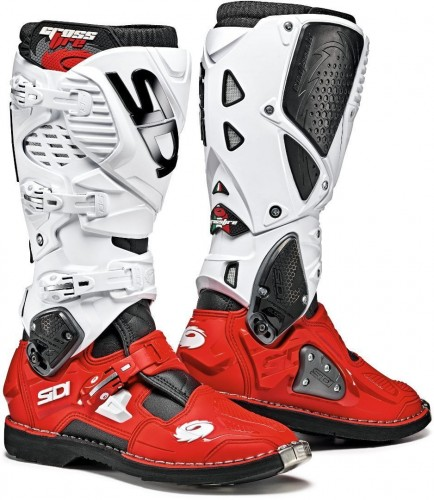 Buty SIDI CROSSFIRE 3 WHITE/RED