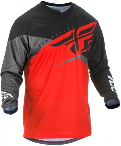 Bluza off-road Fly Racing F-16 Black/Red