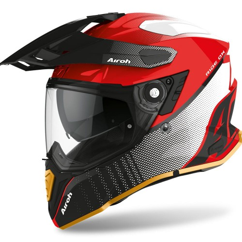 Kask Airoh COMMANDER PROGRESS RED GLOSS LIMITED EDITION