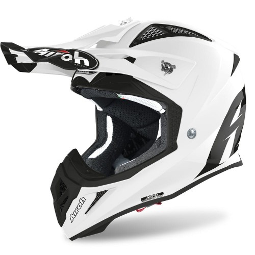 Kask AIROH Aviator ACE WHITE GLOSS
