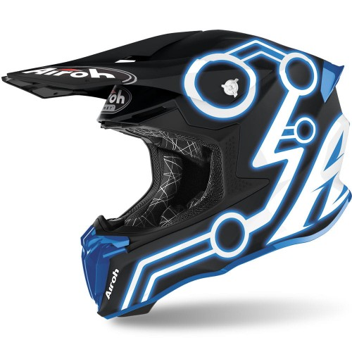 Kask Airoh TWIST 2.0 NEON BLUE MATT