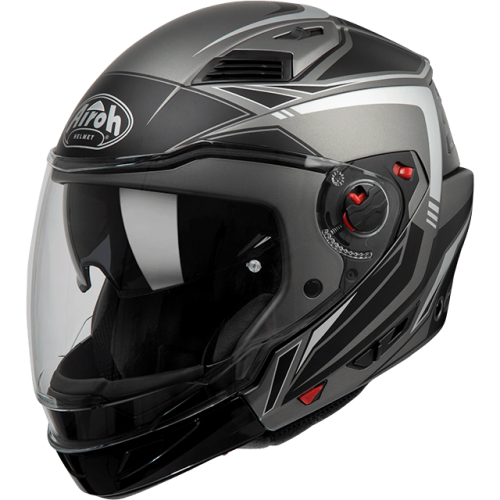 Kask modularny Airoh EXECUTIVE LINE ANTHRACITE MATT